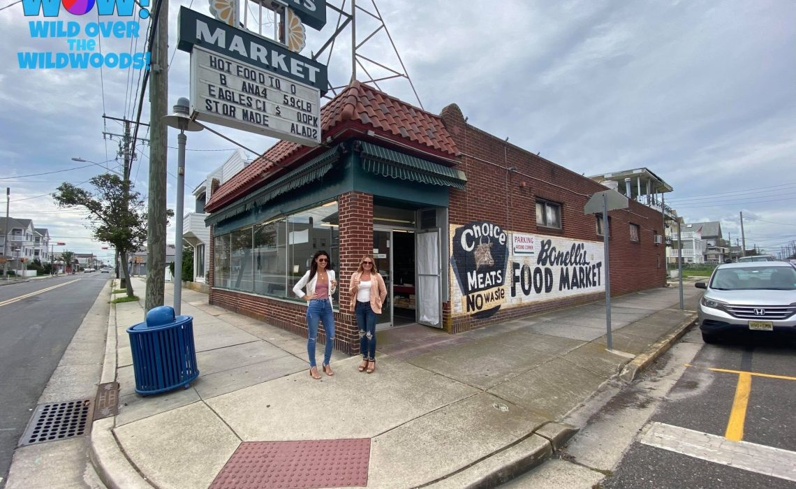 The new owners of the Bonelli's Market, Alexandra and Elena Convery celebrate their upcoming
